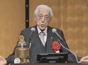 日本のロータリー100周年を祝う会<br /> 委員長 千 玄室様<br /> (京都ロータリークラブ)<br /> <br /> 担当:山元芳裕会員